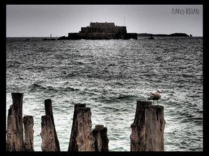 Ce fort m'a inspiré une longue série de photos.