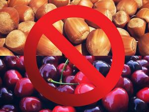 J'ai dégusté, croqué, savouré, je me suis régalée... et j'ai découvert que j'ai allergique aux cerises et aux noix !