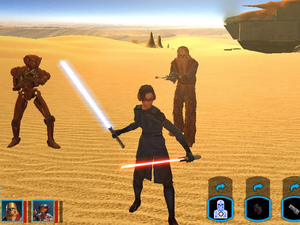 Star Wars Knights of the Old Republic débarque sur Android