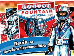 Barnstorm Annonce Evel Knievel‏