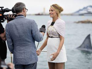 INSTINCT DE SURVIE: Blake Lively à Cannes