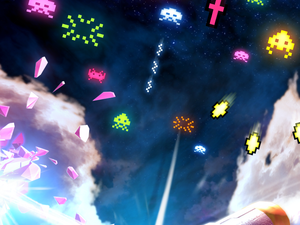 Square Enix lance le jeu Arkanoid vs Space Invaders