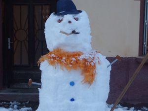 258 - Bonhomme de neige / Puppazo di neve