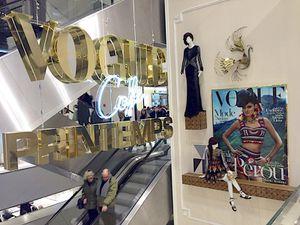 NEW ! Le Vogue Café au Printemps Haussmann