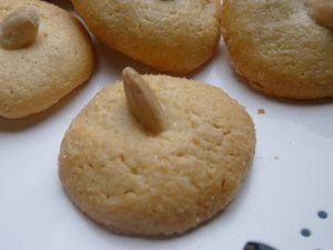 amarettis moelleux de Sardaigne