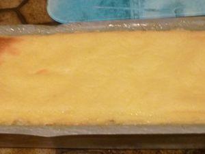 gâteau de semoule au citron vert,rhum et coco