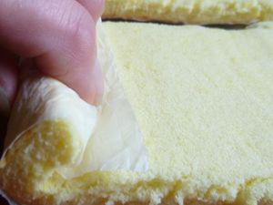 Bûchettes crème de citron,petites meringues et chantilly crème de citron