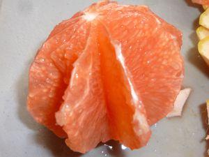 bûche aux agrumes en gelée de Monbazillac épicé