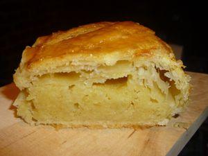 galette frangipane,confiture de griottes