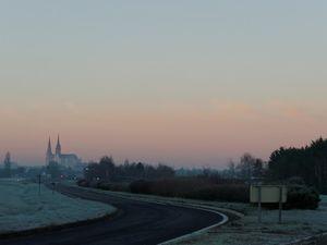 Chartres 1er Janvier 2015 au petit matin