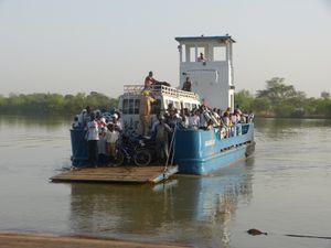 Passage dans la bouche du Sénégal
