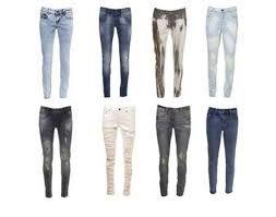 Voila des jeans plus ou moins déchirés.