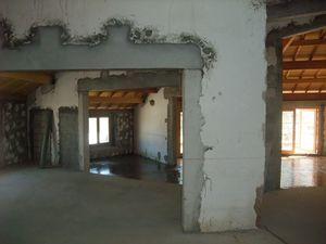 Restructuration complète par l'architecte Stéphane Comby - Chantier en cours
