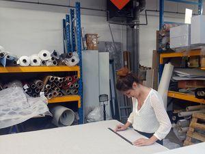 Visite à l'usine TEXAA à Bordeaux ou comment les choses se tissent !?