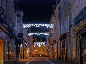 Vues sur les rues Noël Ballay, du Bois Merrain, place du Cygne et place Marceau.