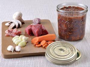 Rôti de Porc (une tuerie) et des nouvelles Boeuf Bourguignon et Compote Pommes-Poires