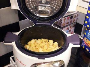 Compote de pommes en conserve (cookeo)