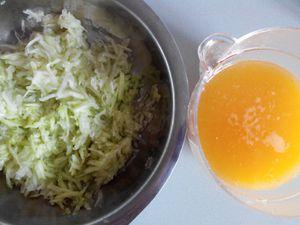 Concombre à l'orange et menthe