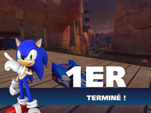Sonic &amp&#x3B; all-star racing transformed en promo sur iPhone et iPad (1,79€)