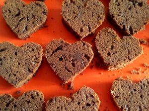 les coeurs au chocolat
