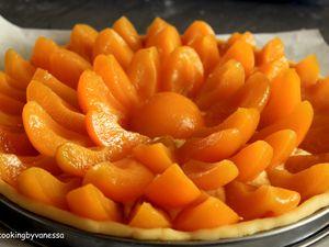 diposition des oreillons d'abricots