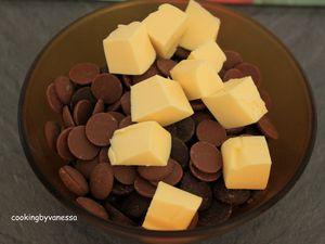 Palets craquants au chocolat et à fleurs de sel de Philippe Conticini