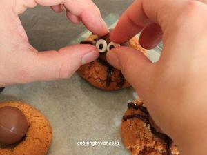 Cookies araignées ou spider cookies