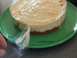 Cheesecake aux spéculoos