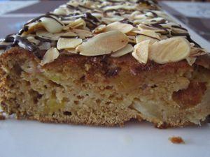 Cake à la nectarine