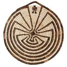 Indiens Pima, leur at de la vannerie et les ruines et petroglyphes des Anasazis disparus