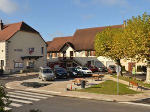 Arlay, première commune nouvelle du canton de Bletterans..