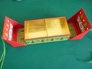 La boîte en forme de travailleuse.