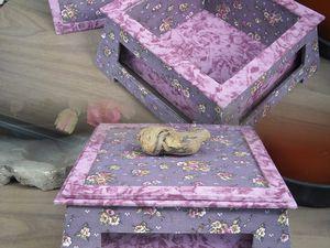La boîte Chinoise carrée de Joëlle T. avec un montage photo en prime.