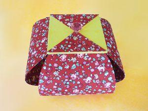 Les belles boîtes Corolle gainées de tissu fleuri de Marie-Suzanne.