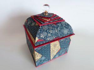 Véronique J. a finalisé le couvercle de sa belle boîte Mansard à la maison. Magnifique!