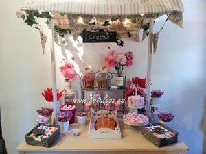 catalpas - mesa de dulces