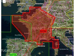 Option BlueChart G2 France (code: HEU704L)