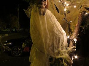 Ce soir c'était l' halloween.