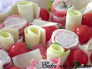 Présentation de la quiche avant la cuisson