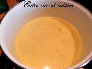 Cabillaud en sauce {légère} au beurre et au citron