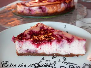 Cheesecake à la Framboise ♥♥♥