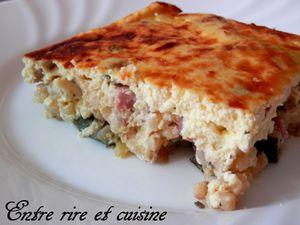 Gratin de Courgettes / Piombi au Lait ribot et Parmesan