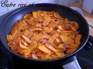 Recettes autour d'un ingrédient # 11 - Gratin de PdT et Potiron à la Ricotta