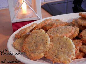 Crackers apéritifs au Comté