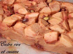 Gâteau-Flan aux Pommes et aux Smarties® et Bon réveillon de fin d'année