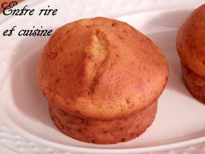 Comme des Muffins au yaourt...à la ricotta et aux bonbons Kinder®