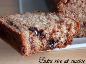 Cake léger à la farine de Froment et aux Epices à biscuits et