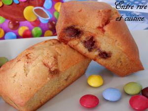 Petits cakes du goûter aux Smarties®