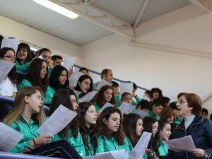 Celebration à Burlada: Collège Notre Dame -FESD- (Fundación Educativa Santo Domingo).