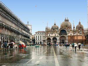 Basilique Saint Marc, Venise, Italie, Histoire